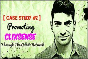 Adhitz Case Study #2 : Promoting Clixsense 1