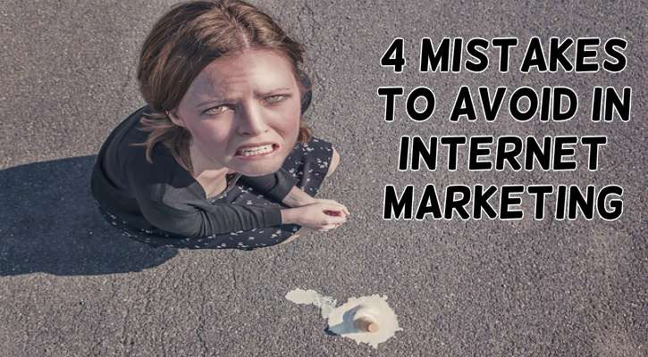 internet marketing mistakes