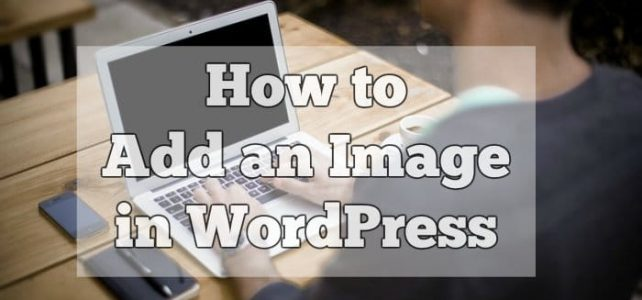 How to Add an Image in WordPress