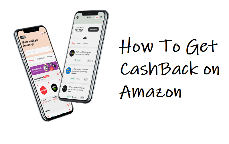 how to get cashback on amazon
