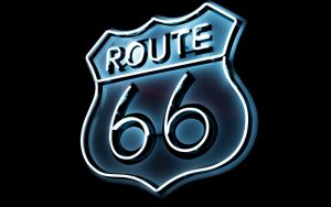 logo of route 66